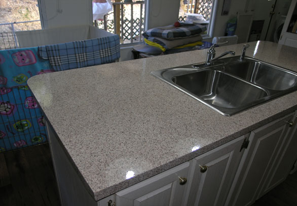 Counter Top Refinishing Stone Fleck 2